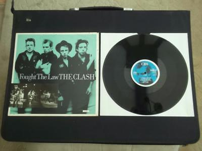 "The Clash I Fought The Law 1988 Uk Press 4 Track 12"" Vinyl Record Ep"