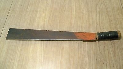 "21 7/8"" Long Vintage Corn Tobacco Knife Farm Tool Machete Wide Blade"