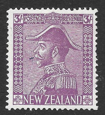 New Zealand 1926-34 3/- Mauve SG 467 (Mint)