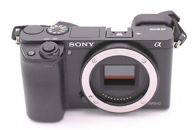 Sony Alpha a6000 24.3MP Digital Camera - Black (Body Only) - Shutter Count: 666
