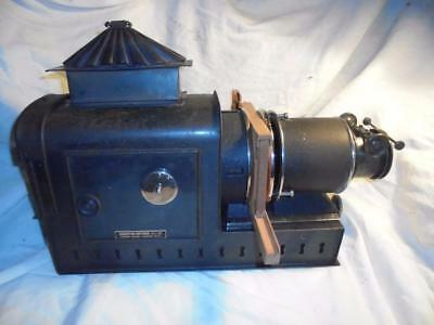 ANTIQUE MAGIC LANTERN PROJECTOR by HOUGHTON-BUTCHER WITH ORIGINAL GAS BURNERS