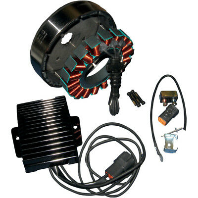 Cycle Electric Inc. 3-Phase 50 AMP Charging Kit for 2001-2006 Harley Softail