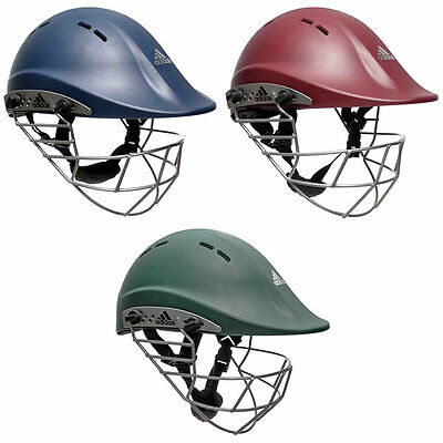 *NEW* ADIDAS ADIPOWER PREMIERTEK CRICKET HELMET, Steel Grill, Junior 52-55cm