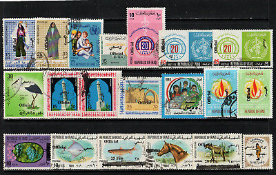 Iraq - Irak - Official - Collection Of 20 Old Stamps - Good Used - High Cat. £