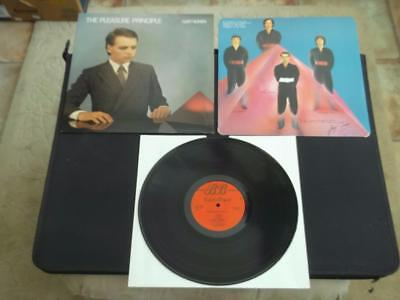 "Gary Numan The Pleasure Principle 1979 Uk Press 12"" Vinyl Record Album Ex/ex"