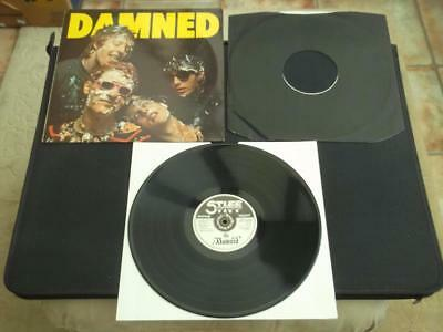 "The Damned - Damned Damned Damned 1977 Uk Press 12"" Vinyl Record Album  Ex/ex"