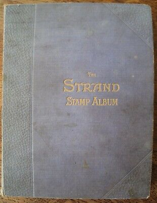 Very Old Strand stamp album containing over 4000 stamps