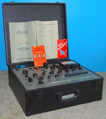 Hickok 752A Mutual Conductance Tube Tester Excellent Condition Plug & Play