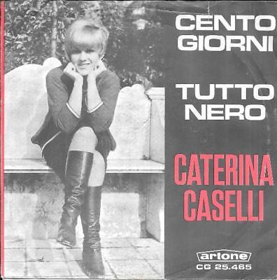 Caterina Caselli 45 Tutto Nero(Paint It Black)+Ps Holland Rolling Stones Rare