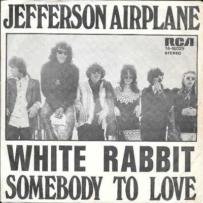 Jefferson Airplane 45 White Rabbit+Ps Holland Rare