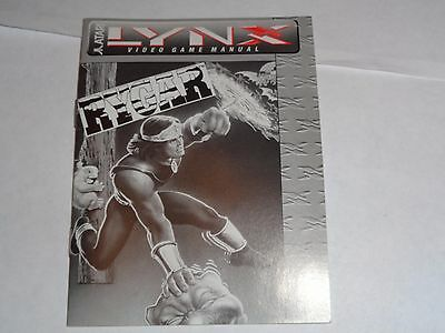 Rygar - Atari Lynx Instructions Manual