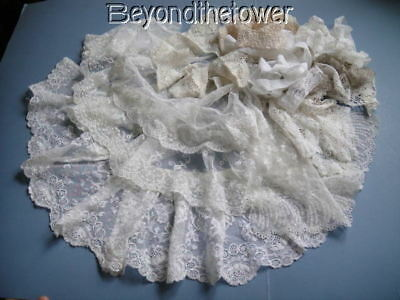 Collection Of Vintage Lace Ideal For Dolls And Teddies