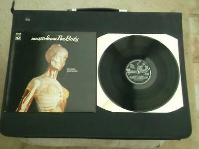 """Ron Geesin Roger Waters Music From The Body 1987 12"""" Vinyl Record Album Ex/ex"""