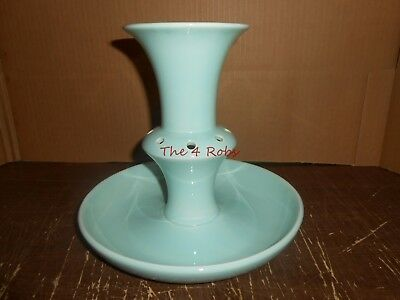 Vintage Taylor, Smith & Taylor LuRay Green Pastels Epergne Flower Vase