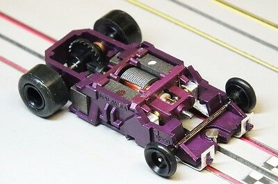 Tyco HO Slot Car - 440x2 Narrow AMG 3.5 Ohm Tasmanian Devil Pro-4/8 SMOKIN' FAST