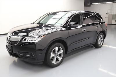2016 Acura MDX Base Sport Utility 4-Door 2016 ACURA MDX 7-PASS HTD LEATHER SUNROOF REAR CAM 29K #004806 Texas Direct Auto