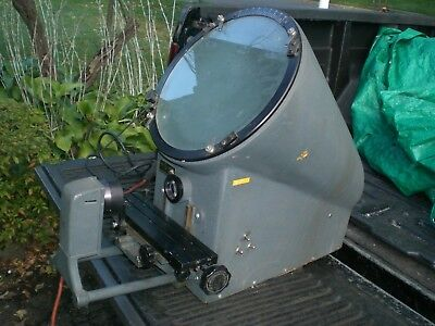 "Micro Vu 12"" Optical Comparator  Model 500HP"