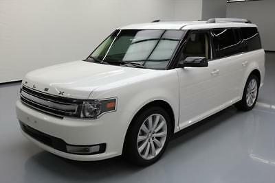2014 Ford Flex  2014 FORD FLEX SEL 7-PASS HTD LEATHER NAV REAR CAM 34K #D22672 Texas Direct Auto