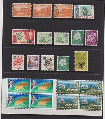 Pacific Islands selection 8 pages