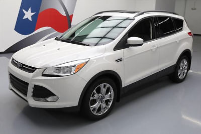 2014 Ford Escape SE Sport Utility 4-Door 2014 FORD ESCAPE SE AWD ECOBOOST PANO ROOF REAR CAM 14K #C17986 Texas Direct