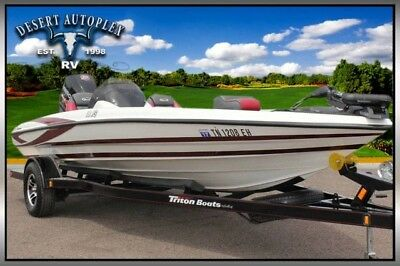 2015 Triton 18 XS Bass Fishing Boat Extra Clean!