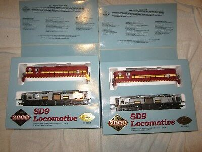 2 Proto 2000 Dm&ir Powered Sd9 Diesels New In Boxes 21189 & 21188 Nice Lot