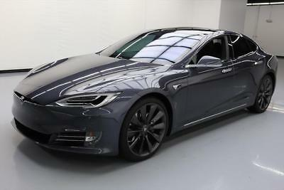 2017 Tesla Model S  2017 TESLA MODEL S 75 PREMIUM UPGRADES PANO SUNROOF 7K #189566 Texas Direct Auto