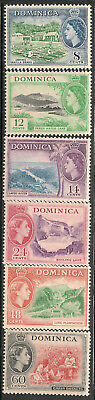 Dominica Scott      149  -  154  Mint Hinged