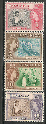 Dominica Scott      157  -  160  Mint Never Hinged