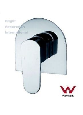 Brand New Whale Round WELS Bathroom Shower Bath Wall Flick Mixer Tap Faucet