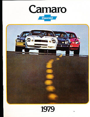 1979 Chevrolet Camaro 16-page Original Car Sales Brochure - Z28 Rally Chevy