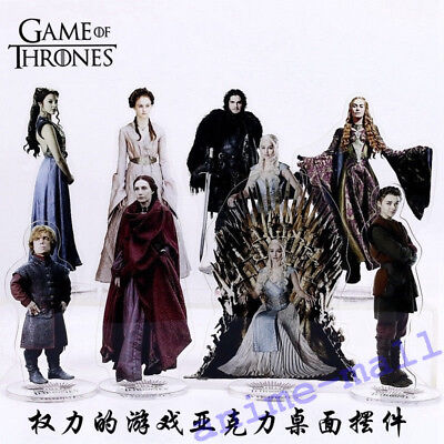 Game of Thrones Character Acrylic Stand Figure Cosplay Collection Gift