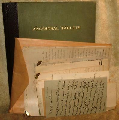 Detailed Morris, Tuttle, Hadley, Genealogy from 1700's