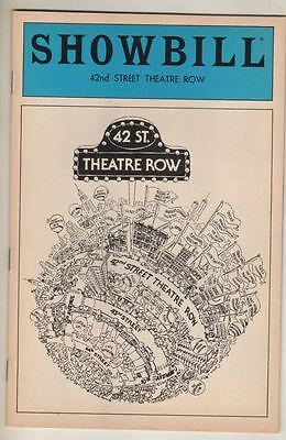 """""""Sunday In The Park With George""""  Pre-Broadway Playbill 1983  Peters, Patinkin"""