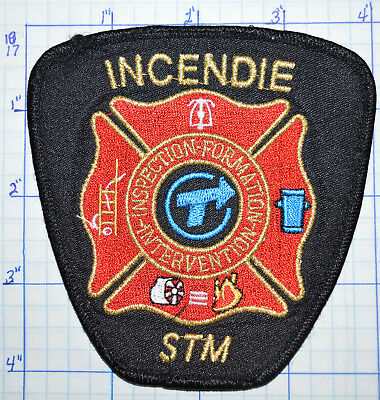 Canada, Incendie Stm Montreal Transit Corp Fire Inspection Prevention Patch