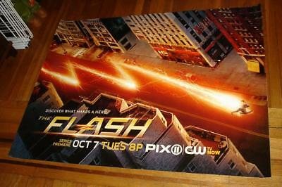 THE FLASH SEASON 1 CW TV 5FT SUBWAY POSTER BARRY ALLEN Grant Gustin 2014