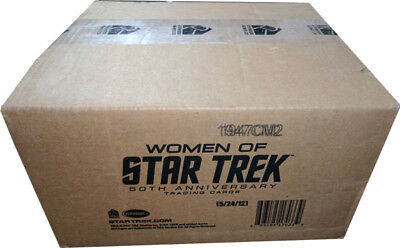 Women of Star Trek 50th Anniversary Full Case of 12 Factory Sealed Boxes