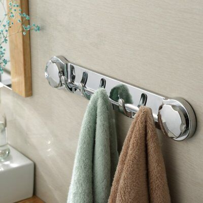 Practical Strong Suction Cup Sucker Wall Hook Kitchen Bathroom Towel Hanger GS