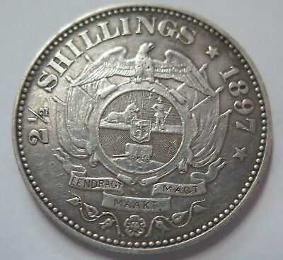 South Africa 1897 2 1/2 Shillings