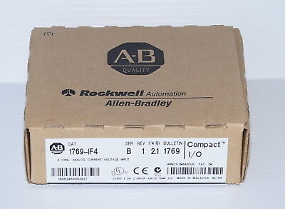 Allen Bradley 1769-IF4/B 4ch Analog Input Module Current/Voltage FACTORY SEALED