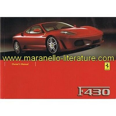 (4207) 2004 Ferrari F430 owner's manual 2086/04 (2nd printing)