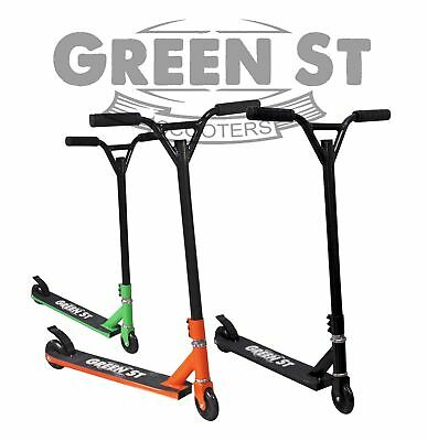 New Green st Scooters stunt scooter. Full size, Ultra light weight