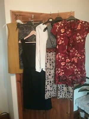 Ladies size 8 clothing Bundle Autumn wear 6 quality items:Next,Monsoon,F & F