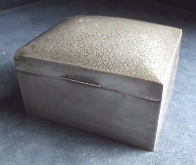 GOOD ~ SOLKETS (Tudric for Liberty) ~ ART & CRAFTS ~ PEWTER Casket ~ c1900