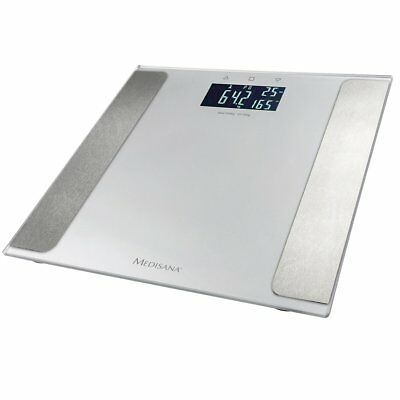Medisana Body Analysis Weight Bathroom Scales 180 kg Silver BS 410 Connect 40424