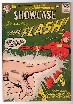 SHOWCASE DC Comics Silver age #8 1960 FN+- 2nd FLASH RARE APPEARANCE