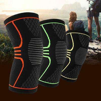 Unisex Knee Sleeve Guard Support Brace Sport Compression Calf Running PainRelief