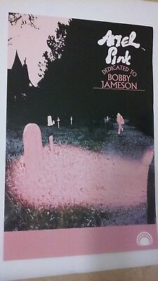 ^ POSTER by ARIEL PINK dedicated to bobby jameson Promo for the album cd