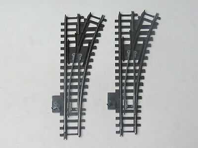 2 x Triang HORNBY - R491 Super 4 Right hand points - OO Gauge