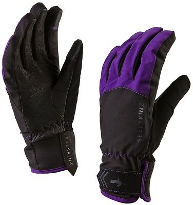 Sealskinz All Season Ladies Waterproof Gloves - Black